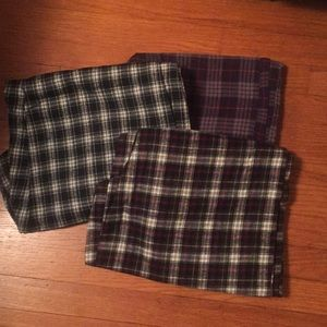 Flannel asleep Pants